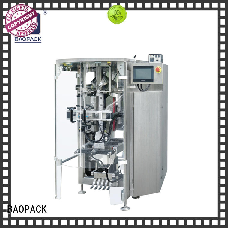 pouch packing machine price small vegetables bag BAOPACK Brand company