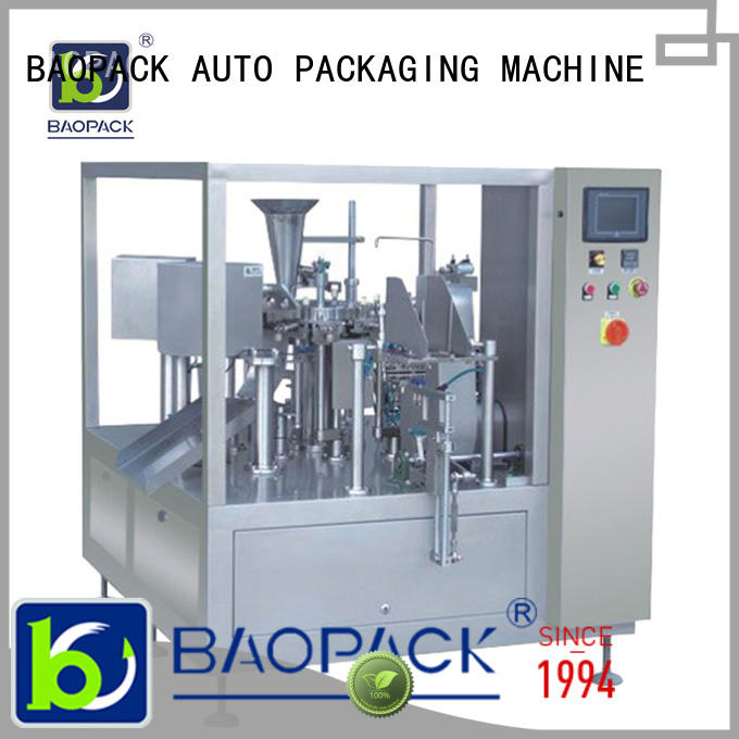 speed pouch packing machine personalized for commercial