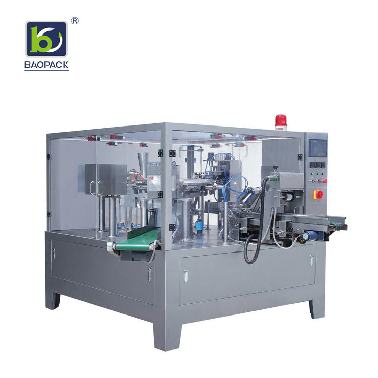 BAOPACK automatic liquid pouch packing machine factory price for plant-1