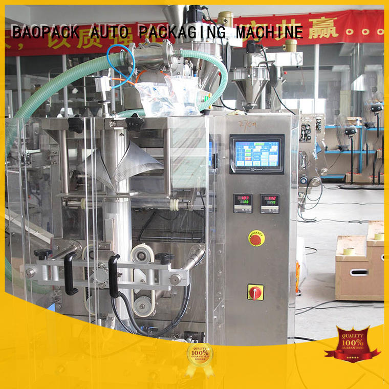 BAOPACK servo liquid filling and sealing machine supplier for plant