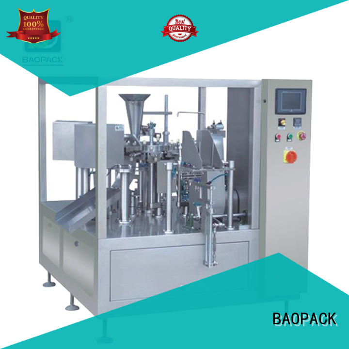 BAOPACK vertical automatic packing machine personalized for plant