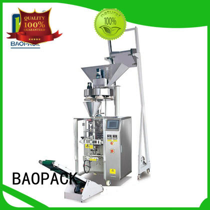 volumetric vertical form fill and seal machine chocolate factory for plant