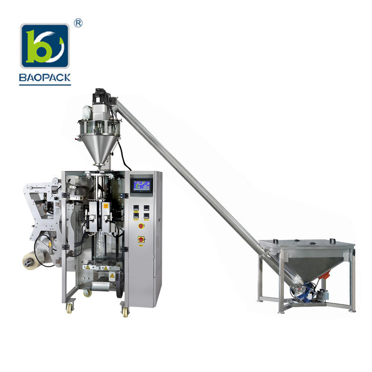BAOPACK Servo Motor 3side 4side Bags Multi-function Powder Packing Machine CB-VS36