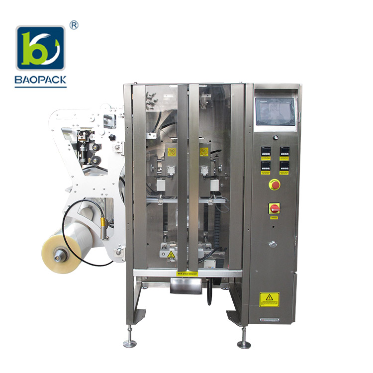 BAOPACK-BAOPACK Servo Motor 3side 4side Bags Multi-function Powder Packing Machine CB-VS36-1