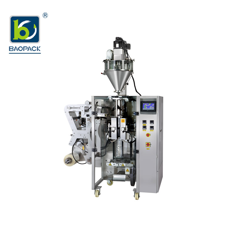 BAOPACK-BAOPACK Servo Motor 3side 4side Bags Multi-function Powder Packing Machine CB-VS36