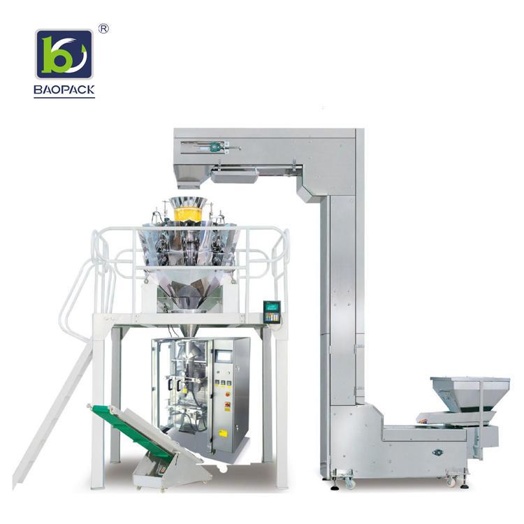 BAOPACK 2kg Automatic Degas Valve Coffee Beans Packing Machine CB-VP52B