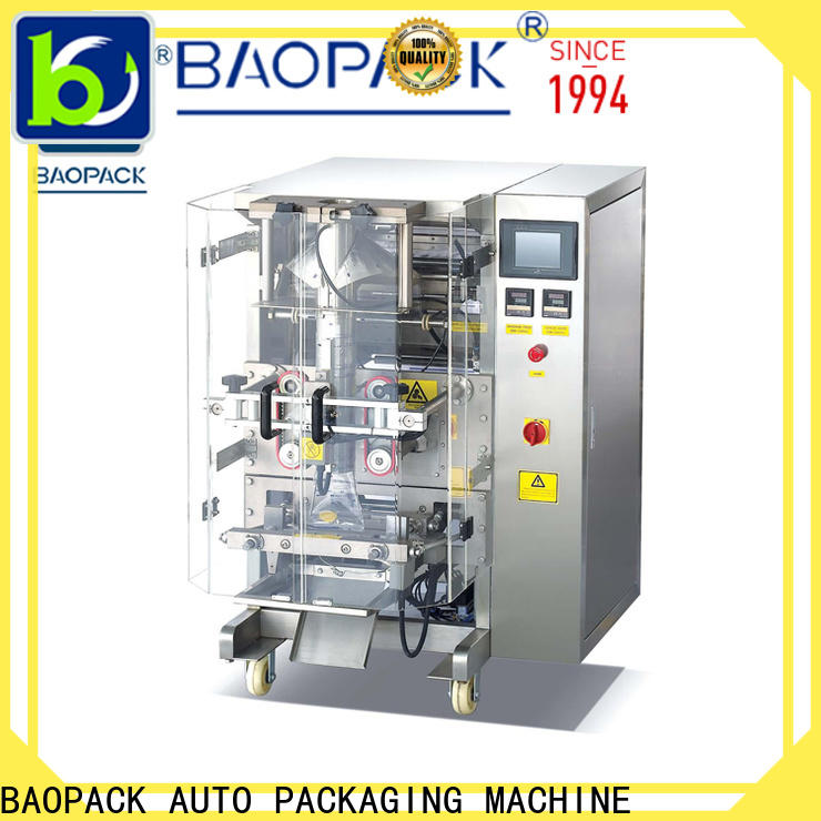 BAOPACK chips auto packing machine factory price for commercial