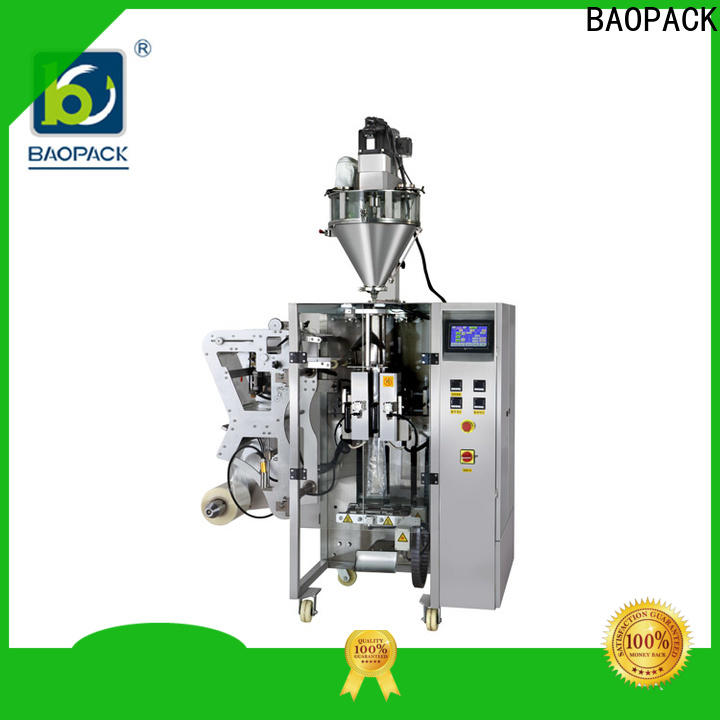 multifunction vertical form fill and seal icecream manufacturer for plant
