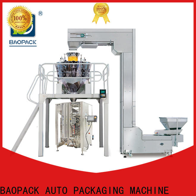 BAOPACK degas weigher packing machine factory price for chocolate