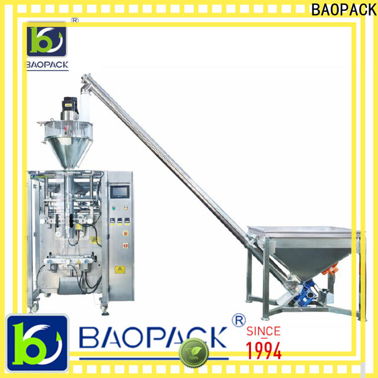 BAOPACK 3side vertical form fill and seal from China for commercial