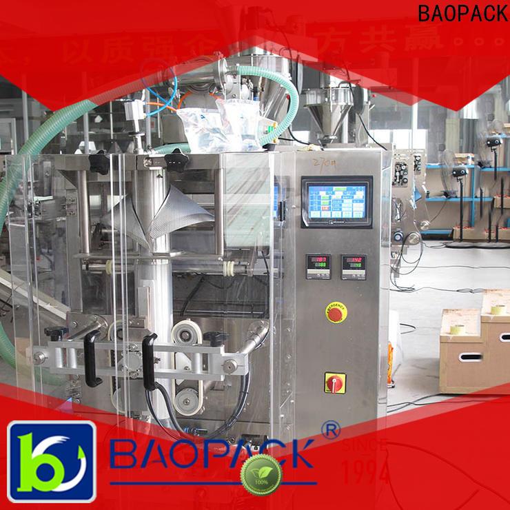 volumetric liquid filling sealing machine bags manufacturer for commercial