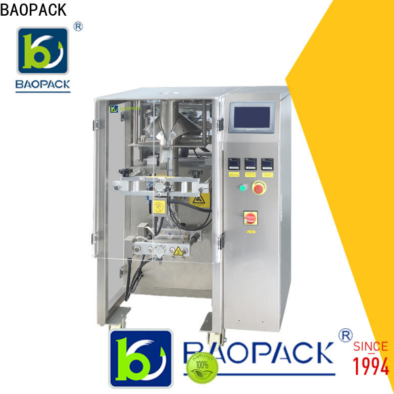 BAOPACK puffed pouch packing machine wholesale for plant