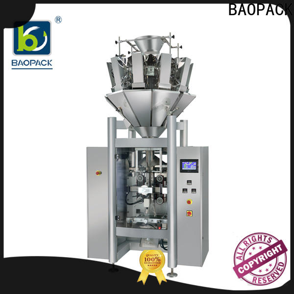 BAOPACK vertical vffs packing machine factory price for chips