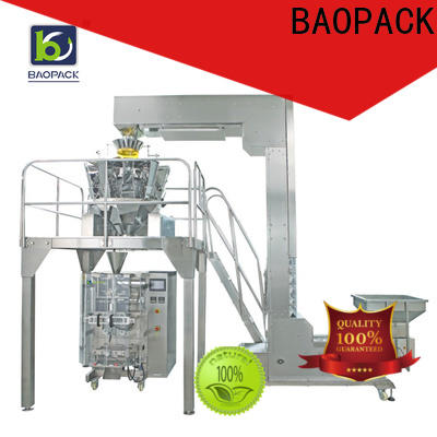 BAOPACK food multihead weigher packing machine factory price for plant
