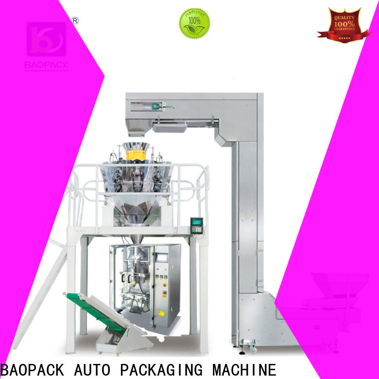 automatic vertical form fill seal machine nitrogen wholesale for chocolate