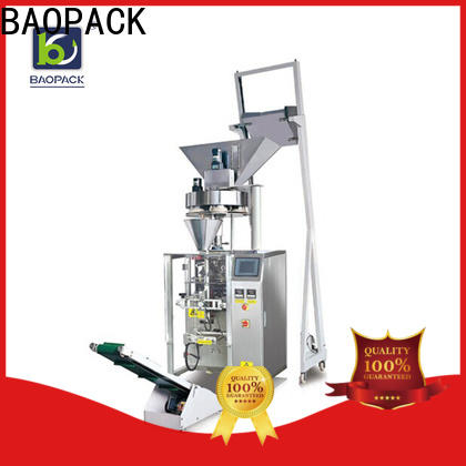 volumetric vertical form fill seal packaging machines bags with good price for industry