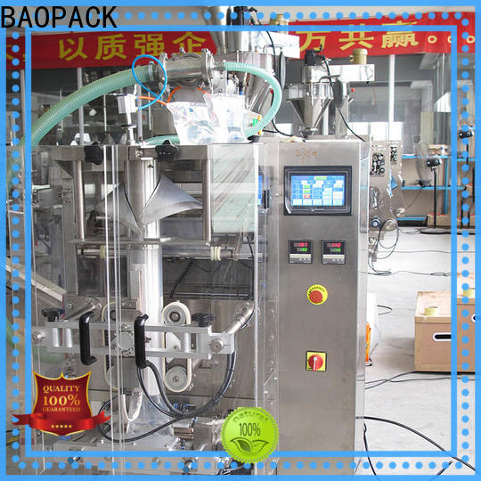 BAOPACK volumetric liquid filling and sealing machine supplier for industry
