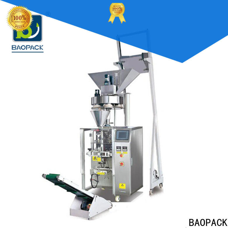 BAOPACK gusset vertical form fill and seal machine design for plant