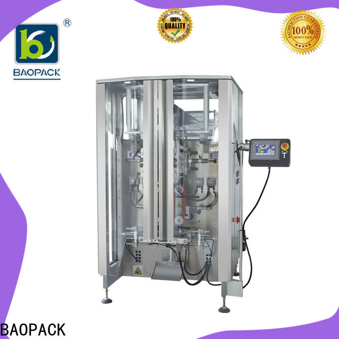 multifunction pillow bag packaging machine biscuits design for commercial