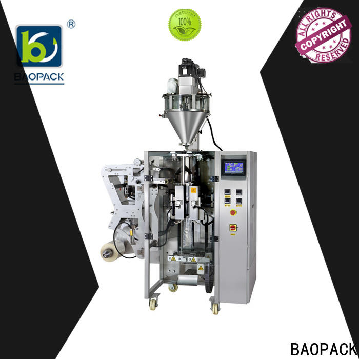 BAOPACK small automatic form fill seal machines series for industry
