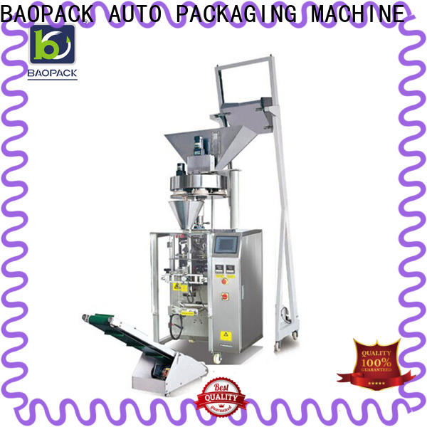 BAOPACK detergent vertical form fill seal packaging machines factory for commercial