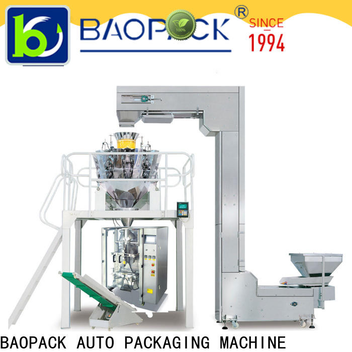 BAOPACK quadro vertical form fill seal machine supplier for chocolate