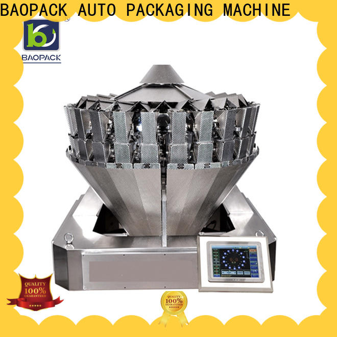 automatic vertical form fill seal machine 4side factory price for industry