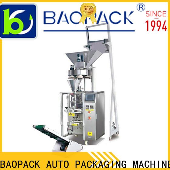 BAOPACK economic volumetric filling machine factory for plant