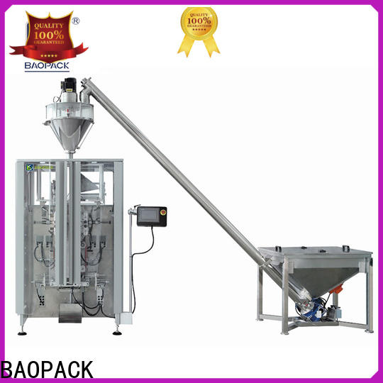 BAOPACK automatic auger filling machine manufacturer for commercial