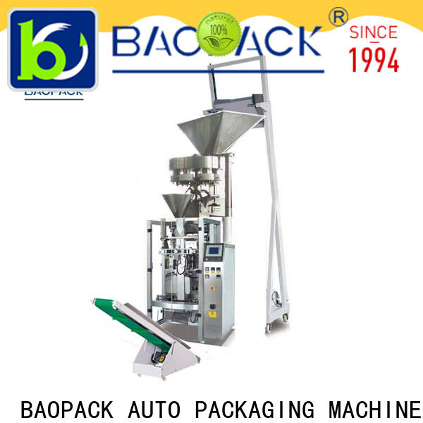 BAOPACK best quality vertical form fill and seal packaging machines with good price for industry