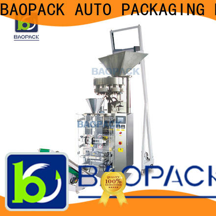BAOPACK small vertical form fill and seal packaging machines factory for plant