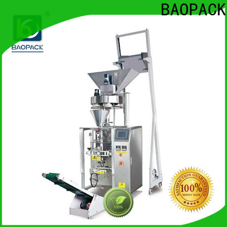 small volumetric packing machine snacks factory for industry