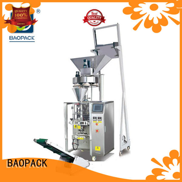 special semi automatic volumetric filling machine design for industry BAOPACK