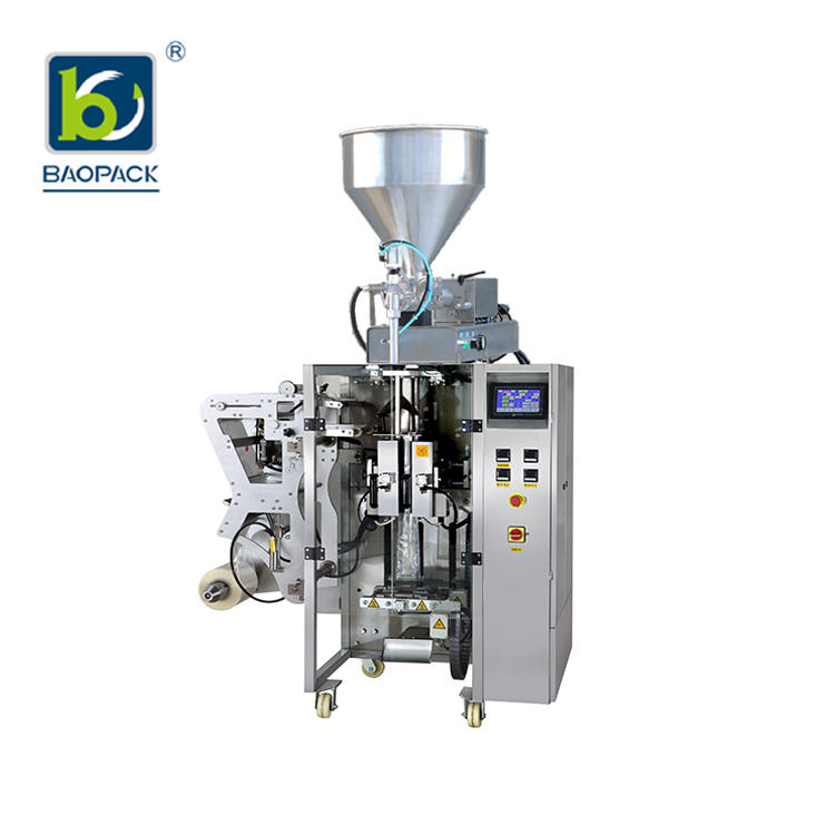 BAOPACK Servo Motor 3side 4side Bags Multi-function Powder Packing Machine CB-VS36-2