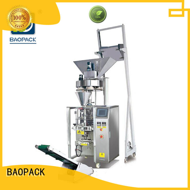 BAOPACK special volumetric packing machine factory for industry