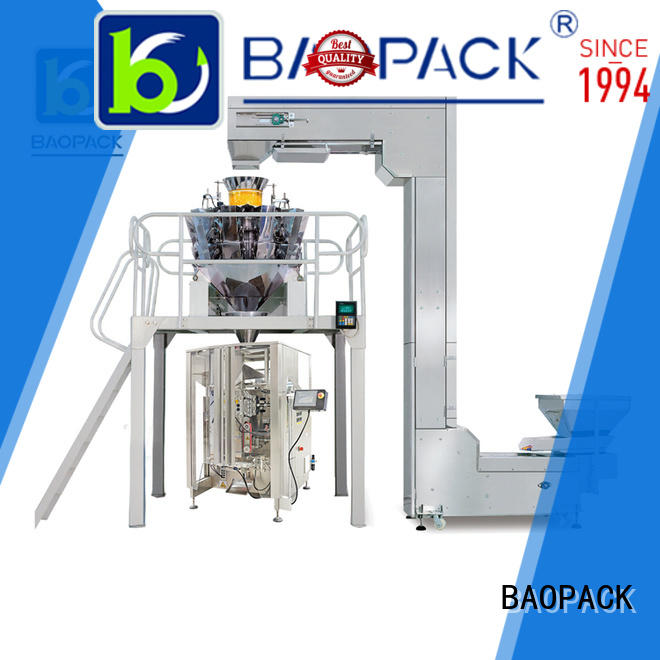 Hot 4 side automatic weighing and packing machine candies BAOPACK Brand