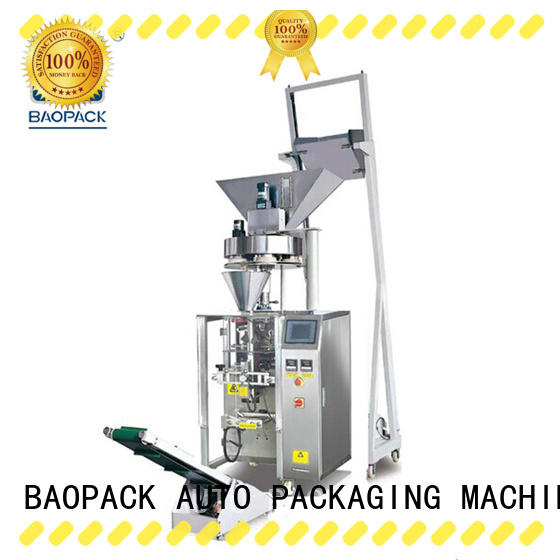 BAOPACK multifunction volumetric packing machine design for commercial