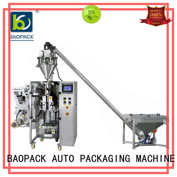 BAOPACK automatic vertical form fill and seal manufacturer for industry
