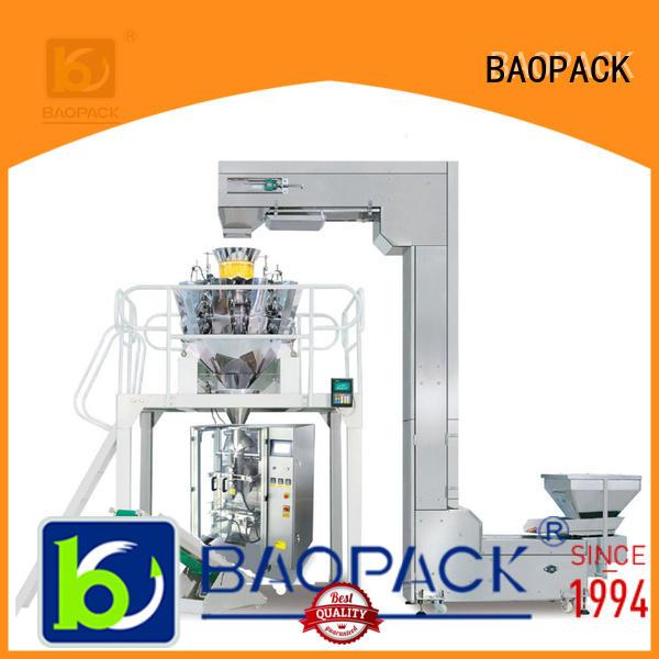 BAOPACK quadro vffs packaging machine wholesale for sugar