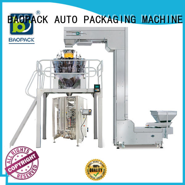 BAOPACK degas multihead weigher packing machine wholesale for chips