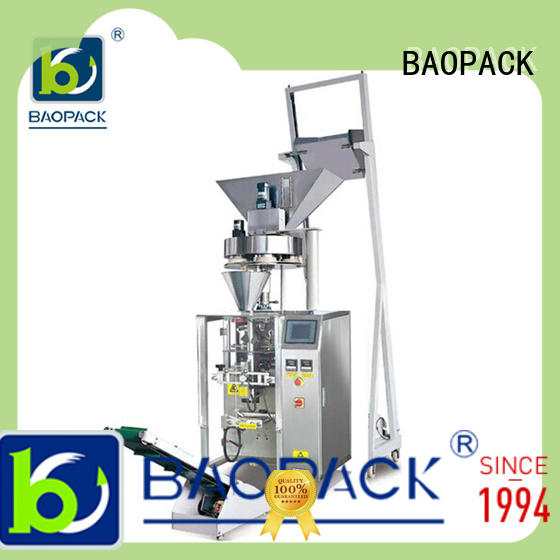 small vertical form fill and seal packaging machines snacks with good price for industry