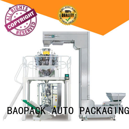 BAOPACK multihead multihead weigher packing machine factory price for chocolate