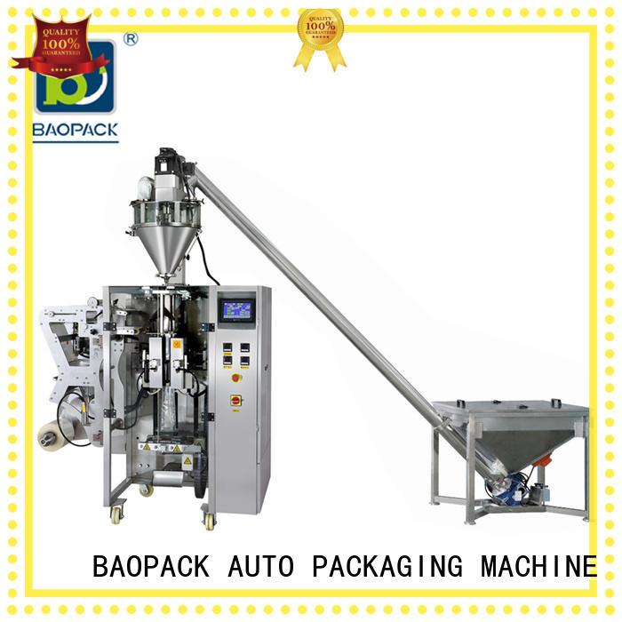 Custom rice powder packing machine icecream BAOPACK