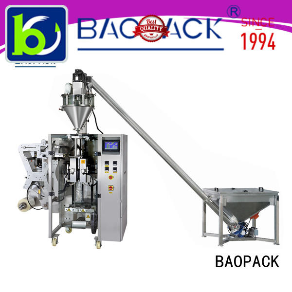 BAOPACK conveyor automatic form fill seal machines series for industry