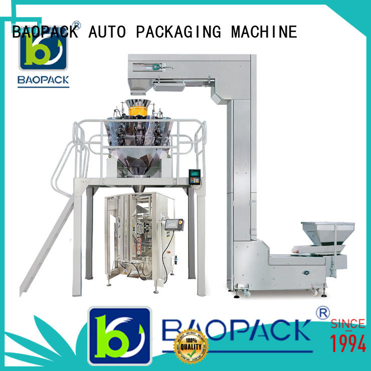 BAOPACK vertical weigher packing machine supplier for chips