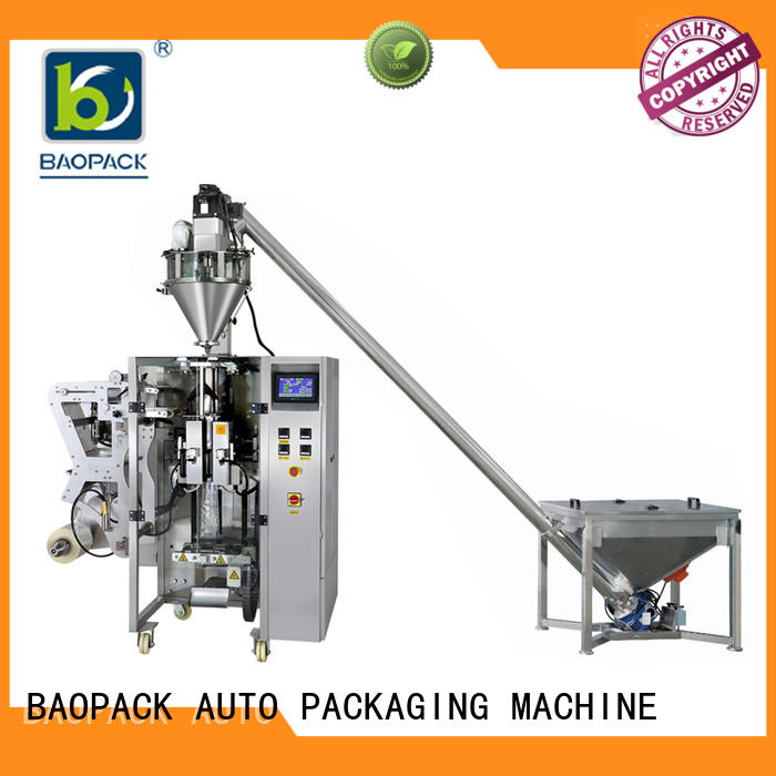 BAOPACK multifunction automatic form fill seal machines from China for plant
