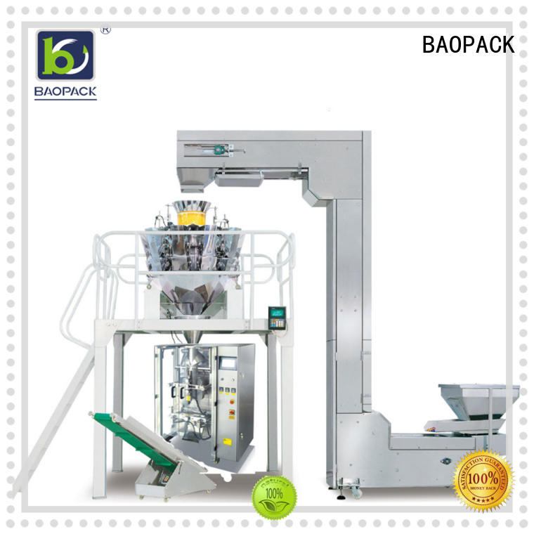 premium speed seal BAOPACK Brand automatic weighing and packing machine factory