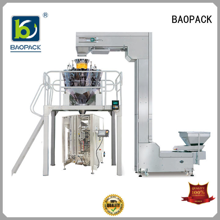 BAOPACK quadro vffs packing machine wholesale for chocolate
