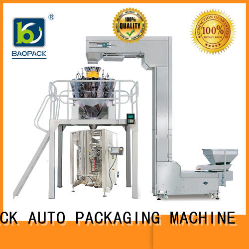 BAOPACK Brand packaging coffee beans custom automatic weighing and packing machine