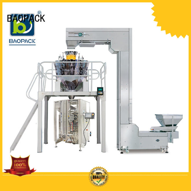 BAOPACK biscuits vffs packing machine supplier for chocolate